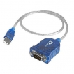 SIIG Cable JU-CS0111-S1 USB to Serial RS232 9-Pin Adapter Cable Brown Box