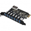USB 3.0 7-Port Ext PCIe Host