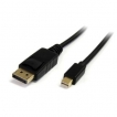 StarTech Cable MDP2DPMM10 10feet Mini DisplayPort to DisplayPort Adapter Retail