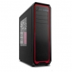 Antec Case NINETEEN HUNDRED RED Gamer ATX Mid Tower 3/0/(12) Bays USB Audio Black Red