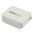 StarTech Network PM1115UW 1Port USB Wireless N Print Server with 10/100 Mbps Ethernet Port Retail