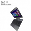 Asus Notebook T100TA-QS11T-CB 10.1inch Bay Trail Z3740 2GB 64GB+500GB HDD GMA Grey Windows 8 64Bit R
