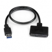 StarTech Cable USB3S2SAT3CB USB3.0 to 2.5inch SATA III Hard Drive Adapter Cable with UASP Retail